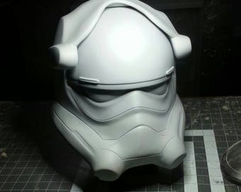 First Order Tie Pilot Resin Casted Wearable Helmet Raw Kit (Pre-Order sale)