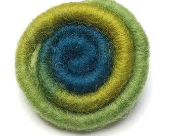 Merino Wool Lapel Pin