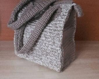 Crochet handbag crochet bag shoulder crochet bag large crochet bag unique handbag women gifts women bag textile bag handbag for women unique