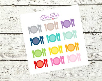 MultiColor Meal Stickers