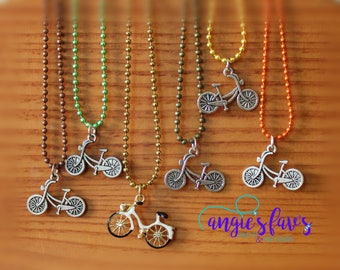 Ball Chain Necklaces, Bicycles