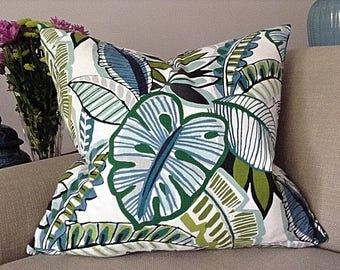 24 x 24 inch Palm Leaf Pillow