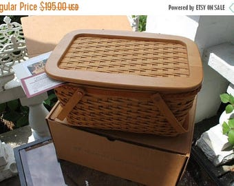 SALE Longaberger Special Edition Founder's Market Basket Combo with Lid in Original Boxes!