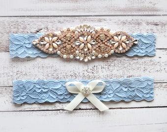 Wedding Garter, NO Slip Lace Wedding Garter Set, bridal garter set, pearl and rhinestone garter set, vintage rhinestones Style A2014