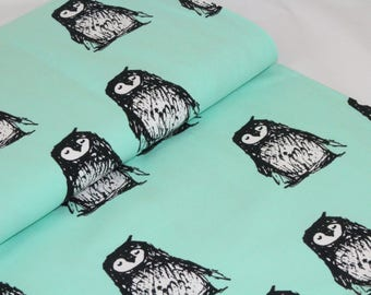 Organic Cotton Jersey Fabric | Paapii | Kaino Mint