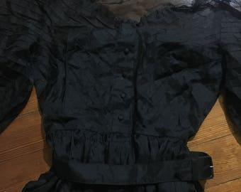 Vintage Black Dress Size