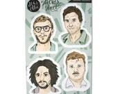 Serial Killer Sticker Sheet