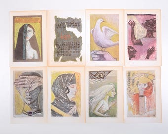 Illustrations print set, illustration pack set, gallery wall decor,mermaid, women illustration set
