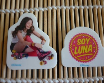 "Character ""SOY LUNA"", sold by erasers"