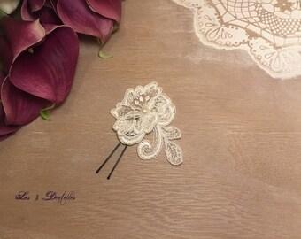 wedding lace ivory wedding PIC * 3 lace *.