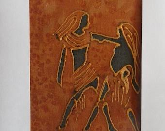 astrological sign of Gemini @evysoie silk card