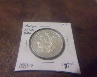 BU 1881-O Morgan Silver Dollar