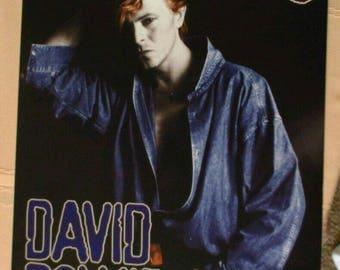 David Bowie Poster Calendar UK photographs super Rare! Vintage music posters rare posters photos