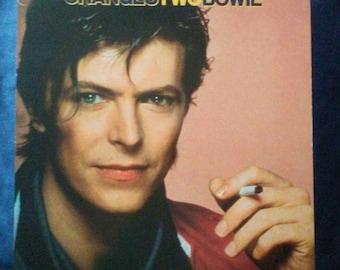 David Bowie Poster Changes Two Bowie flat slick Original Record Store promo poster Album Flat NM David Bowie slick Bowie picture RARE!