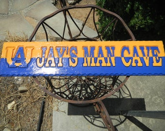 Signs, Plaques, Special Rooms, Wooden, Rustic, Custom Designed, Carved, Interior or Exterior, Weather Resistant, Unlimited Colors,