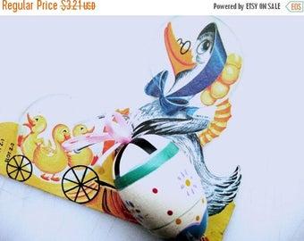 75% Off Easter Vintage Handpainted Wooden Egg, Vintage Easter Decor