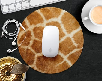 Giraffe Mouse Pad Skin Animal Mouse Mat Desk Accessories Rubber MousePads Idea Gift Her Mouse Mat Decor Office Supplies Computer Mouse Pad