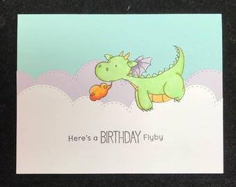 Dragon Birthday Greeting Card