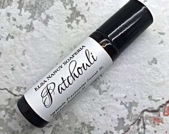 PATCHOULI Single Note Essential Oil Roll On , Custom your own perfume, Botanical Perfume , Aromatherapy , Essential Oil Roll On