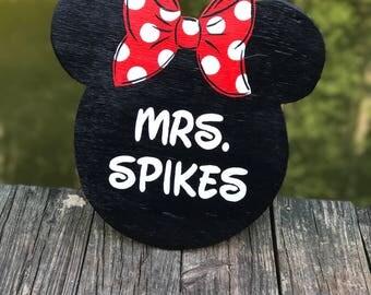 Minnie Mouse door hanger