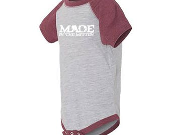 Made In The Mitten Infant Fine Jersey Onsie