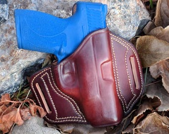 Smith and Wesson MMP Shield 45 Leather Holster
