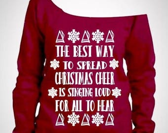 15% off this week Elf Ugly christmas sweater/ elf sweater / funny christmas sweater