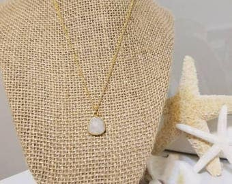 Moonstone Necklace | Gold Necklace