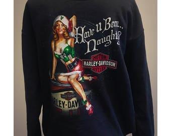 Vintage Harley Davidson Christmas Sweatshirt