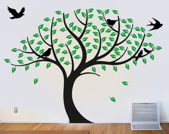 Tree, Interior Sticker, Window Sticker, Wall Decal, Wall Decor, Wall Sticker, Nature