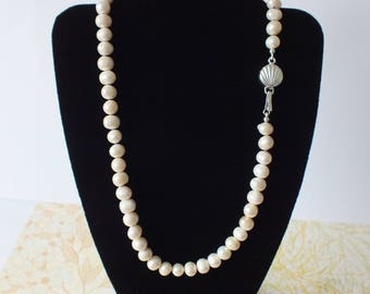 Hand Knotted Freshwater Pearl Necklace