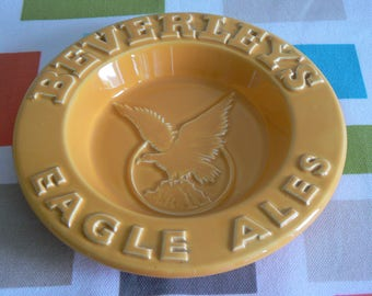 Vintage Beverleys Eagle Ales Advertising Ashtray - in Mint Condition.