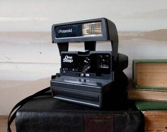 Vintage Polaroid Onestep 600 / Polaroid Camera / Instant Film
