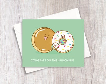 Congrats on The Munchkin! | New Baby | Funny Card