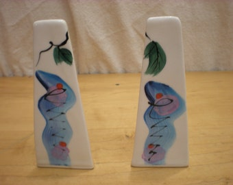 Hand Made Ceramic Salt and Pepper Shakers