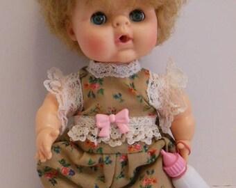 """Floral Jumper Set for Uneeda 8"""" Bundle of Love Dolls"""