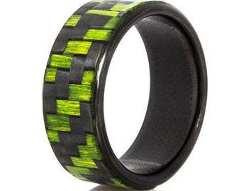 Men's ElectroStryke Carbon Fiber Ring