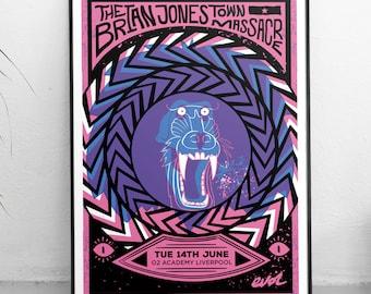 The Brian Jonestown Massacre - The Brian Jonestown - Psychedelic rock - Psychedelic print - Psychedelia - Official merchandise - Liverpool