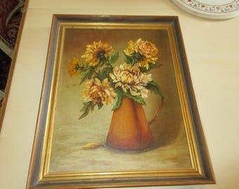 MID CENTURY ORIGINAL Painting