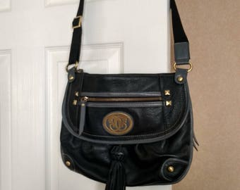 Vintage Sherif crossbody bag in Nappa leather