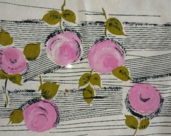 Vintage silk scarve ROSES