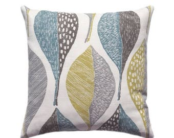 Sale Decorative Graphic Charcoal Grey Pillow Cover 18x18