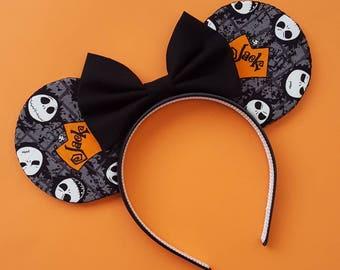Jack Skellington Mouse Ears