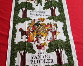 Vintage, KayDee And Sewell Jackson, All Pure Linen, Amish  Dish  Towel, Made In Hope Valley Rhode Island