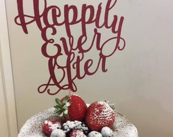Fiver Friday specials - Happily Ever After, Once Upon a Time, Best Day Ever - Fairytale themed cake topper
