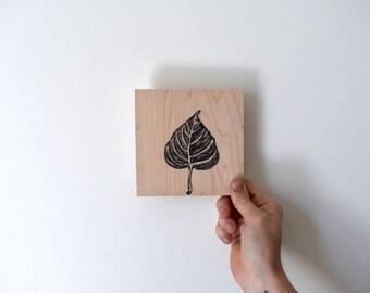 Cottonwood Leaf #4