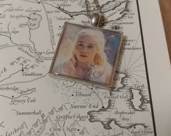 Game of Thrones Necklace, Khaleesi, Emilia Clarke, Daenerys Targaryen Necklace