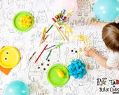 Giant coloring poster, MONSTER, Giant coloring, kids game, coloring, poster, kids, black and white, decor