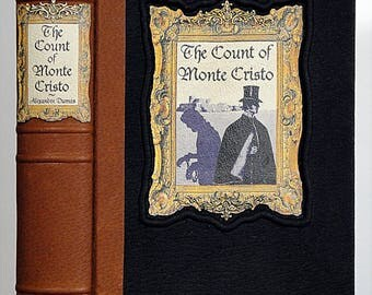 1896 ~ The COUNT Of MONTE CRISTO ~ Alexandre Dumas, Restored & Rebound in Leather