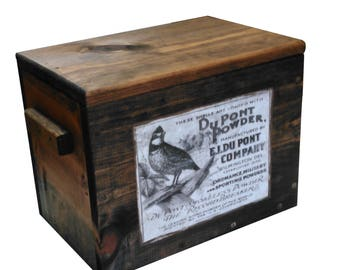 Wooden Ammo Box - Ammunition Storage Crate